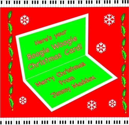 Boogie Woogie Christmas Card