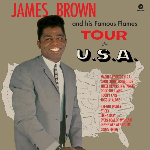 James Brown - Tour the U.S.A