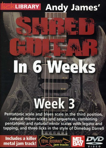 Andy James Shred Guitar in 6 Weeks: Week 3