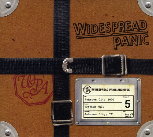 Widespread Panic - Johnson City 2001 [6 Panel Cardboard Sleeve]