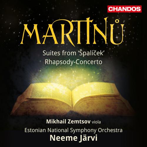 Martinu / Zemtsov / Jarvi - Neeme Jarvi Conducts Martinu