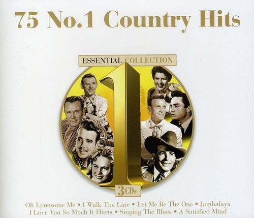 Country No 1 Hits - 75 #1 Country Hits (Various Artists)