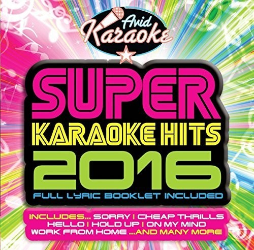 Super Karaoke Hits 2016 /  Various