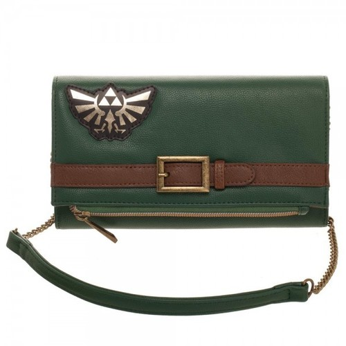 Nintendo Legend of Zelda Foldover Clutch Purse - Nintendo Legend Of Zelda Foldover Women's Clutch Purse
