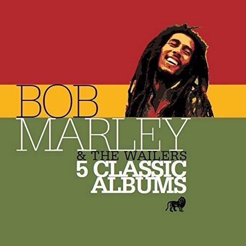 Bob Marley & The Wailers - 5 Classic Albums (Uk)