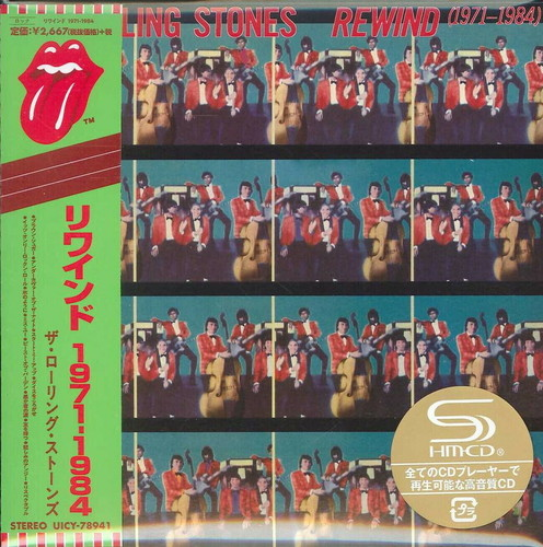 The Rolling Stones - Rewind (1971-1984) (SHM-CD / Paper Sleeve / 2009 Remastering) [Import]