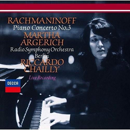 Martha Argerich - Rachmaninov: Piano Concerto No.3/T