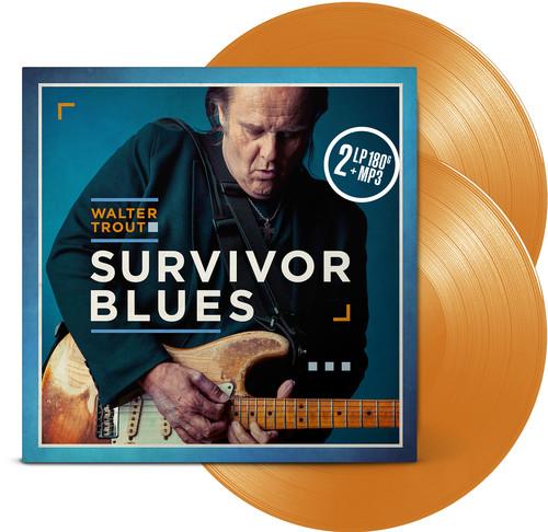 Walter Trout - Survivor Blues [Limited Edition Orange LP]