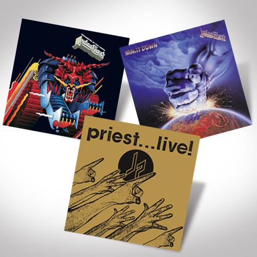 Judas Priest Lp Bundle