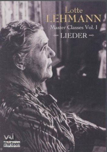 Masterclasses 1: Lieder