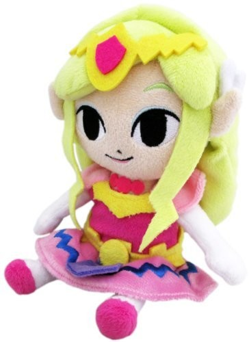 "- Little Buddy The Legend of Zelda Princess Zelda 8"" Plush"