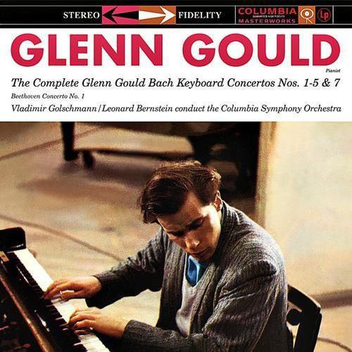Complete Glenn Gould Bach Keyboard Ctos