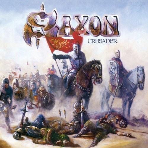 Saxon - Crusader: Remastered [Limited Edition Black & Blue LP]