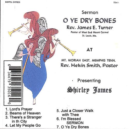 O'Ye Dry Bones/ Sermon