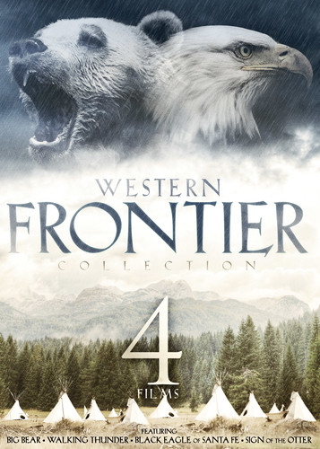 4-Film Western Frontier Collection