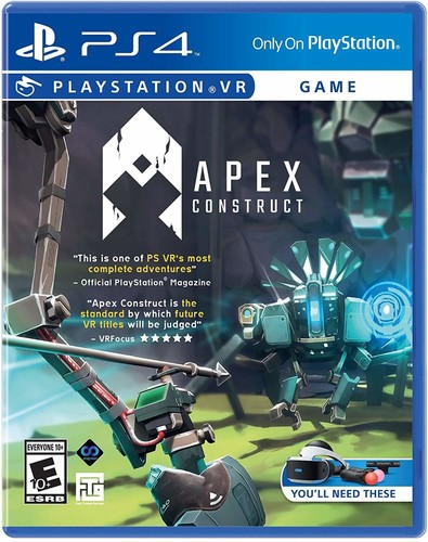 Apex Construct: VR for PlayStation 4
