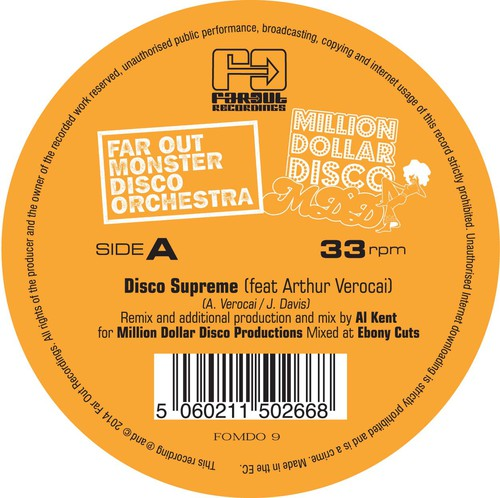 Disco Supreme (Al Kent Edit)