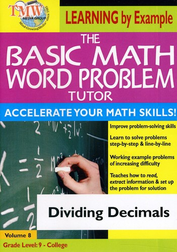 Basic Math Word Problms: Dividing Decimals