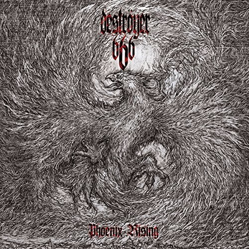 Destroyer 666 - Phoenix Rising (Blk) (Cvnl) (Gate) (Gry) (Ltd)