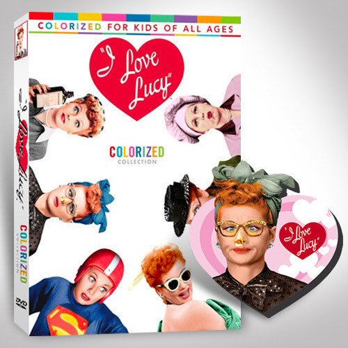 I Love Lucy: Colorized Collection With Free Magnet