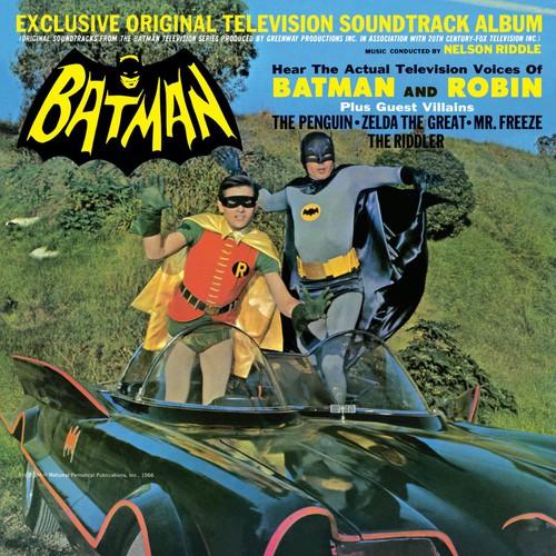 Nelson Riddle - Batman: Exclusive Original Television Soundtrack Album [Vinyl]