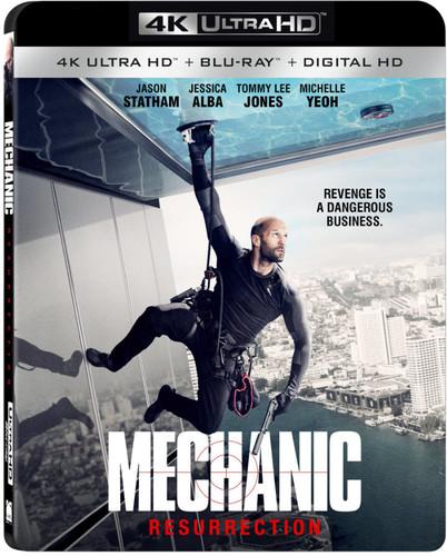 Mechanic: Resurrection [4K Ultra HD Blu-ray/Blu-ray]