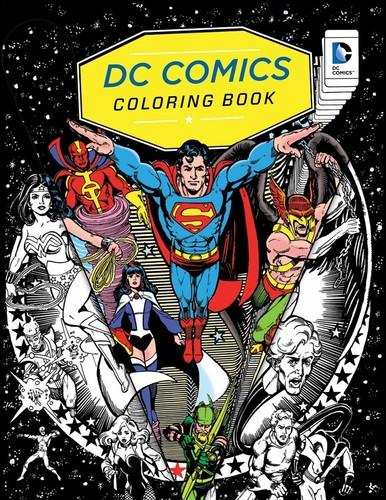 Insight Editions - DC Comics Coloring Book