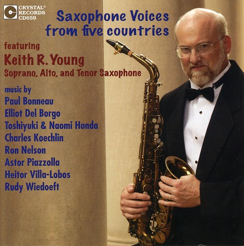 Saxophone Voices from Five Countries /  Various