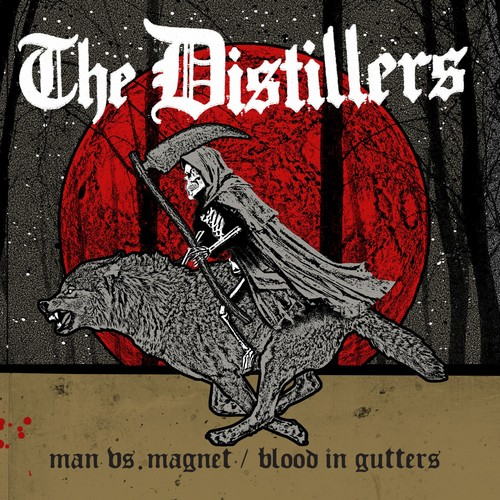 The Distillers - Man Vs. Magnet / Blood In Gutters [Vinyl Single]