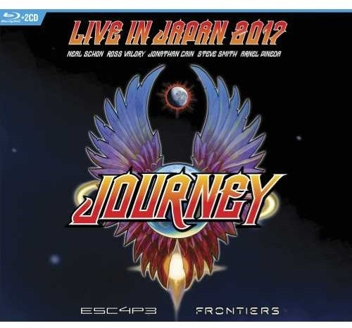 Journey - Escape & Frontiers Live in Japan [2 CD/Blu-ray]