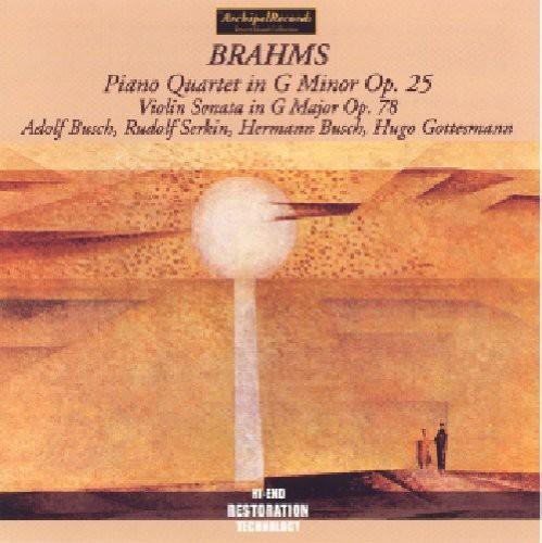 Piano Quartet G minor /  Violin Sonata G Major