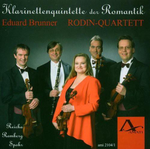 Clarinet Quartets of Roman