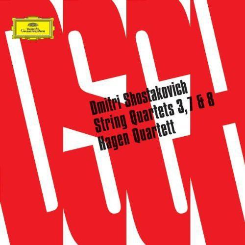 String Quartets 3 7 & 8