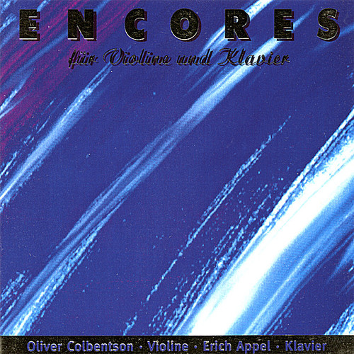 Colbentson, Oliver : Encores