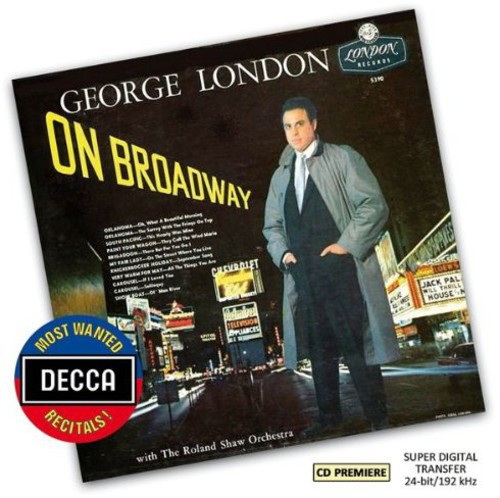 Most Wanted Recital: George London on Broadway