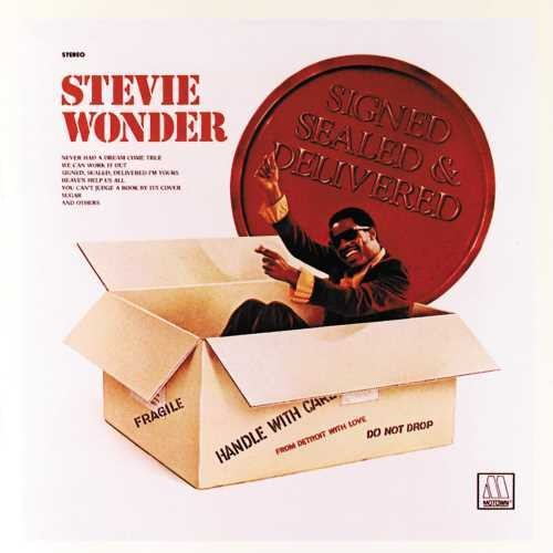 Stevie Wonder - Signed, Sealed And Delivered [LP]