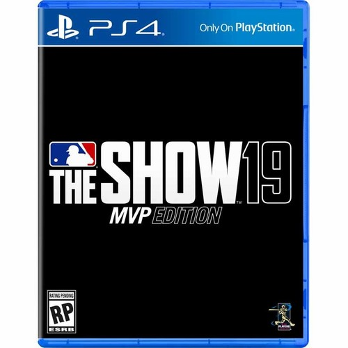 - MLB The Show 19 MVP Edition for PlayStation 4