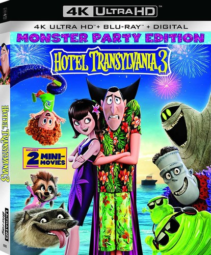 Hotel Transylvania 3: Summer Vacation [4K Ultra HD Blu-ray/Blu-ray]
