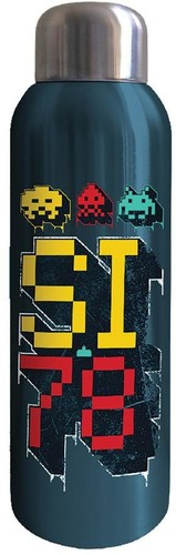 Space Invaders 22 Oz. Stainless Steel Water Bottle - Space Invaders 22 Oz. Stainless Steel Water Bottle