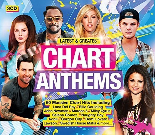 Latest & Greatest Chart Anthems /  Various [Import]