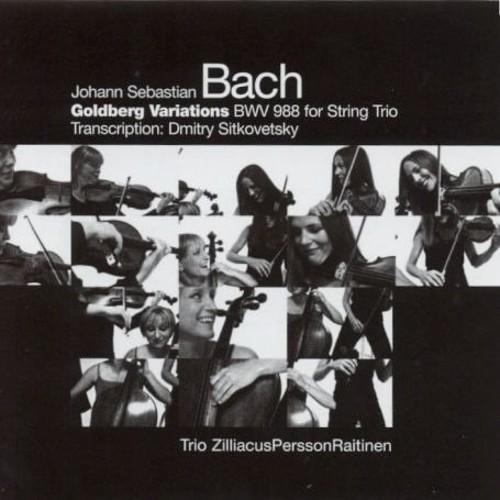 Goldberg Variations BWV 988 for String Trio