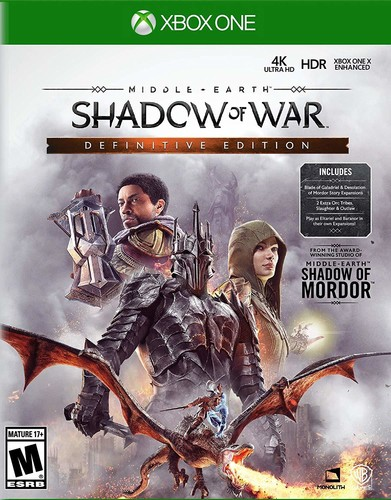 - Middle Earth: Shadow Of War - Definitive Edition