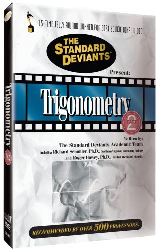 Standard Deviants: Trigonometry, Vol. 2
