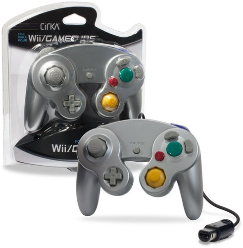 - CirKa Controller - Silver for Nintendo Wii and GameCube
