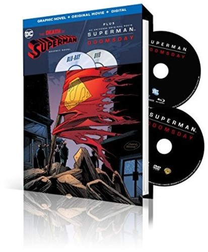 Superman: Doomsday With Death of Superman Graphic Novel