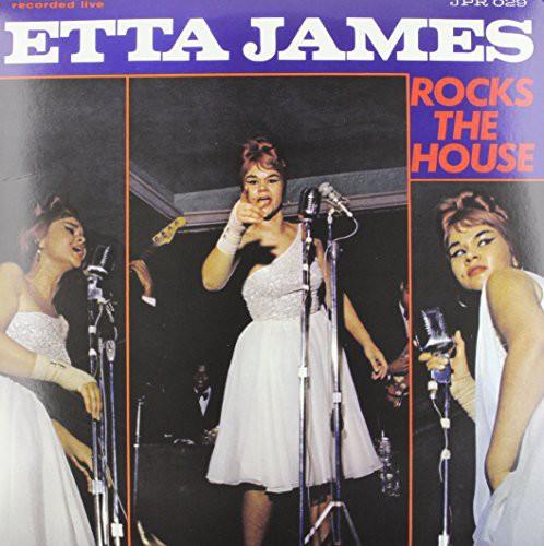 Etta James - Rocks The House (Bonus Tracks) (Blue)