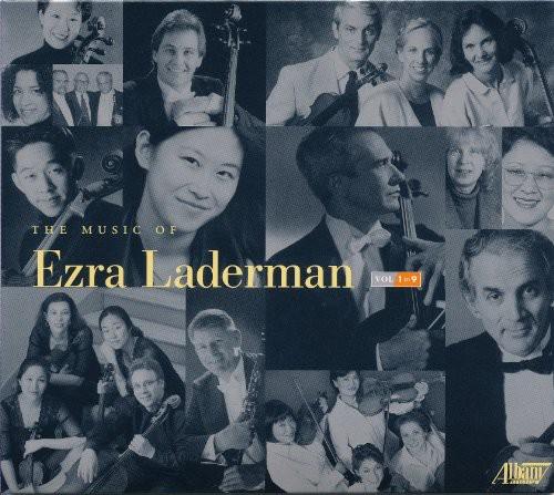 Music of Ezra Laderman 1-9