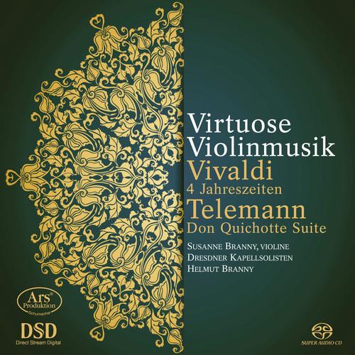 Vivaldi & Telemann: Virtuose Violinmusik