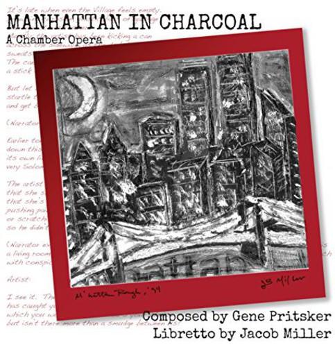Manhattan in Charcoal