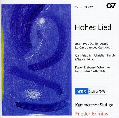 Works a Capella By Daniel-Lesur Ravel Debussy